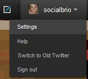 TwitterLogInSettings